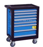 Chariot Haut-Chaud à outil de tiroirs de la vente 7 avec des kits de l'outil manuel 220PCS