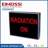 Signes en service de porte de rayon X obscur de méthode de DEL