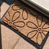 エントリ戸口の前ドアのテラスのポーチの歓迎のホーム園芸装飾のスクレーパーの敷物のカーペットのココヤシのシュロのココナッツファイバーの玄関マット