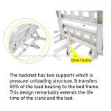 Elektrisches Bett der Funktions-HK-N104 zwei (Krankenhausbett, medizinisches Bett, medizinische Ausrüstung)