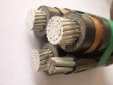 12/20 (24KV) 3X1X150 + 54, cabo do En Acier Inoxydable de 6mm2 Autoporteur