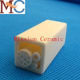 Tubo di ceramica dell'allumina di elevata purezza Al2O3 di corrosione