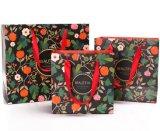 花の印刷の美しいギフト袋