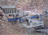 Tipo máquina do guincho da estrutura de elevador da cubeta de mineração