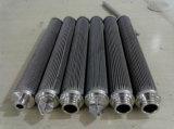 Acier inoxydable en métal plissé bougie bougie filtre cylindre / élément filtrant