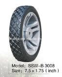 roda dianteira Semi pneumática da polegada 7.5X1.75 para segadeiras