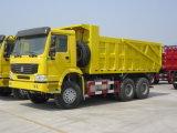 HOWO 8X4 22.5m3のダンプボックスダンプカートラック