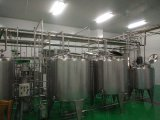 Linha de processamento Pasteurized automática cheia do leite