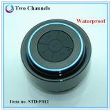Altavoz estéreo impermeable del lechón de Bluetooth de la ducha del nivel Ipx7