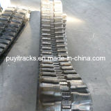 Pistes en caoutchouc antivibrationnes de Puyi (300X52.5Wx84)
