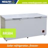 Самый лучший продавая замораживатель холодильника DC энергосберегающего замораживателя 50% солнечный