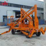 plataforma plegable automotora de la elevación del brazo de los 8m