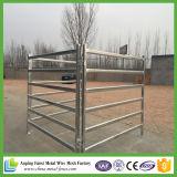 Panneaux portatifs bon marché galvanisés lourds de yard de bétail