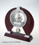 Klok van uitstekende kwaliteit van het Bureau van de Slinger de Stevige Houten voor BedrijfsGift K3034PA