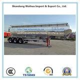 топливозаправщик цемента большого части алюминиевого сплава 60m3, облегченный навальный трейлер