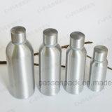 frasco de alumínio da vodca 750ml com tampão inalterável (impressão da tela)