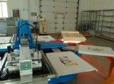 Machine d'impression ovale d'écran en soie de tissu automatique