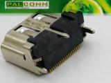 Гнездовой разъем HDMI, тип 19pin вертикальный SMT для STB