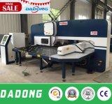 Placa da folha da qualidade 4mm de China máquina de perfuração hidráulica do CNC da melhor