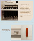 寝室の家具のアクリルの光沢度の高いメラミンワードローブの戸棚(zy-036)