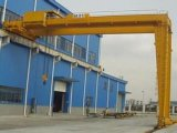 2-10 Workshop와 Logstics를 위한 Electric Hoist를 가진 톤 Semi-Gantry Crane