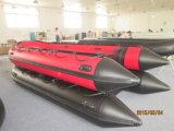 Liya 2.06.5m de Vouwbare Opblaasbare Opblaasbare Boot van het Type van Sport Hypalon