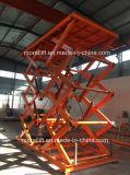 Hidráulico Scissor el equipo de aumento industrial de la elevación
