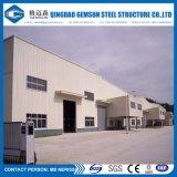 Sección H Fácil de instalar Prefab Steel Workshop