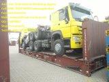 Populärer Primärkraft-Traktor-LKW 10tires des Modell-HOWO7 Euroii 6X4 des Pferds 336HP mit einzelnem Bett mit gelber Farbe