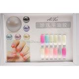 Gel UV de couleur de beauté d'art de clou de polonais de gel de perle (UG34)