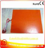 termistor 100k adesivo do calefator 24V 500W 3m da impressora da borracha de silicone 3D de 400*500*1.5mm