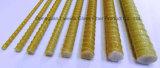 Un matériau plus élevé de résine époxy de Rebar d'amorçage de la fibre de verre GRP FRP de force