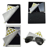 Microfiber Glasses Cloth com Silk Printing