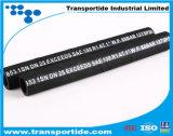 Высокой шланг обернутый чернотой крышки давления одиночный провода 1sn