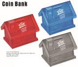 Banco de moneda , caja de dinero , Casa banco de moneda , banco de moneda de plástico