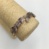 De Armband van de Juwelen van de Armband van het Blad van de Legering van de manier