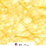Пленка сублимации мрамора 3D желтой вены ширины Yingcai 1m