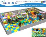 Patio suave para de interior y al aire libre con la piscina y las diapositivas (H14-0915) de la bola