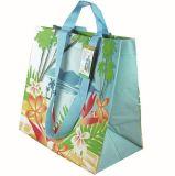 Die gesponnene Qualität pp. lamellierte Einkaufstasche für Supermaket