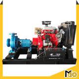 120HP 디젤 엔진 수평한 원심 수도 펌프
