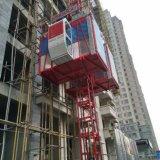 Grua elétrica da construção do elevador do elevador da corda de fio