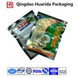 多彩な印刷を用いる真空の軽食の冷凍食品の包装袋