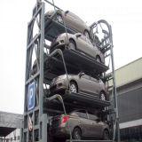 Sistema giratório vertical do estacionamento