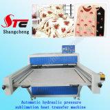 Impresora del calor de la camiseta de la máquina del traspaso térmico de la presión hydráulica del formato grande de la prensa Machine100*120cm del calor de la presión hydráulica Stc-Z01