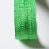 #3 fecham o Zipper de nylon invisível da extremidade C/E