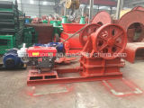 Huahong Small Stone Diesel Jaw Crusher mit Clutch