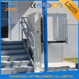 Levage de fauteuil roulant vertical hydraulique extérieur de Platfrom pour les handicapés