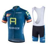 Telas refrigerando cortadas do fabricante do Sportswear raça feita sob encomenda que dão um ciclo o jogo de Jersey