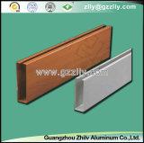 Material de construção Quadrate-Pipe Baffle Teto de alumínio