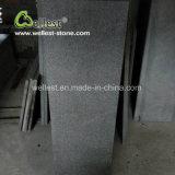 Patio nero delle mattonelle del granito G684 che pavimenta le mattonelle di pavimento della piscina delle mattonelle